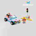 cheap price car model educational building blocks smart toy for kids