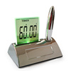 Beautiful design color screen calendar clock mini digital clock project plush alarm clock