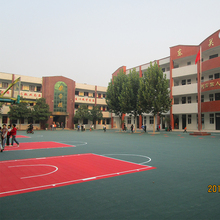 Basketball Skating Court Interlocking Plastic Flooring