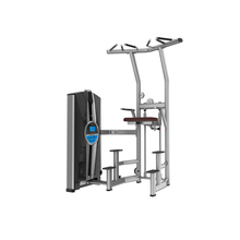 Dezhou Factory Best Gym Equipment TZ-8019 Assisted Chin Up Dip Body Building Machine
