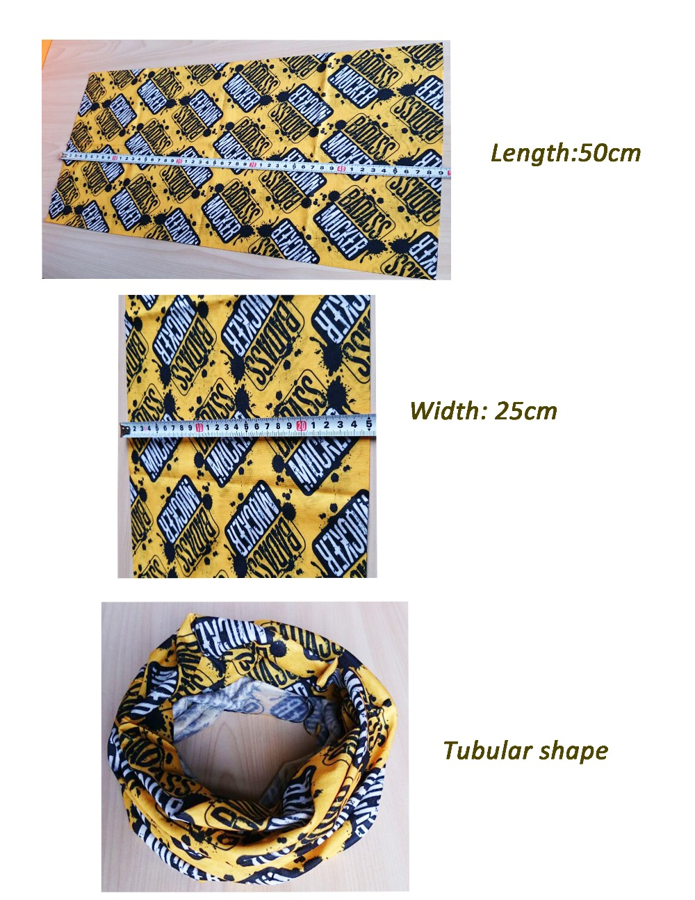 Multifunctional Winter polyester warmer Tube Bandana