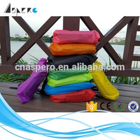 Inflatable Nylon Sleeping Bag, inflatable Sleeping Air laybag LED light north face sleeping bag