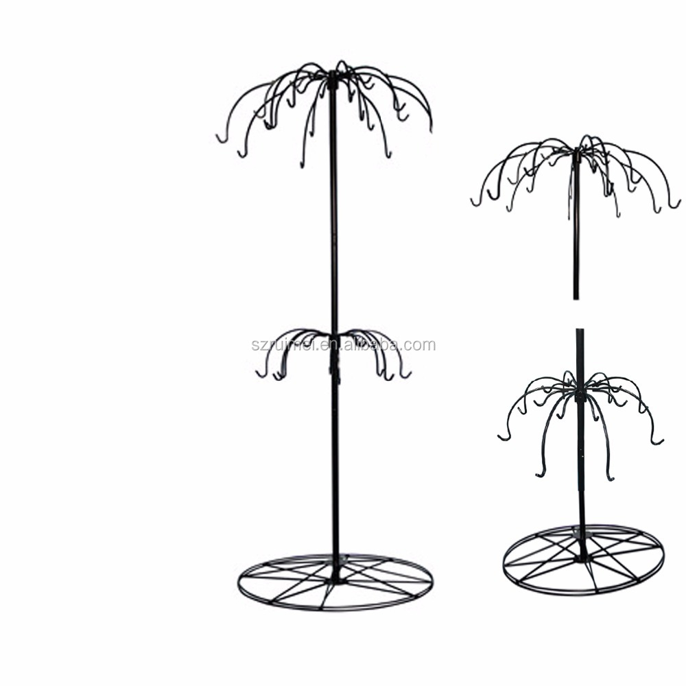 Metal wind chime display stand