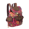 lady canvas backpack with low price with high quality