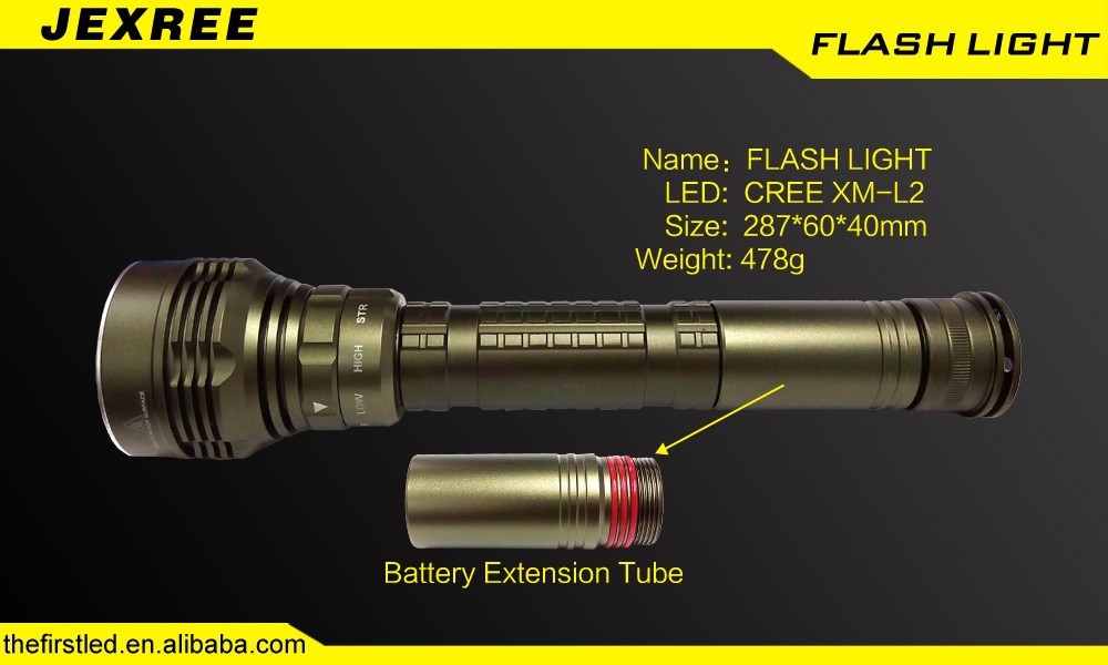 JEXREE Factory diving torch light diving torch led flashlight