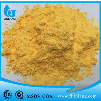 High grade light yellow chemical auxiliary blowing agent