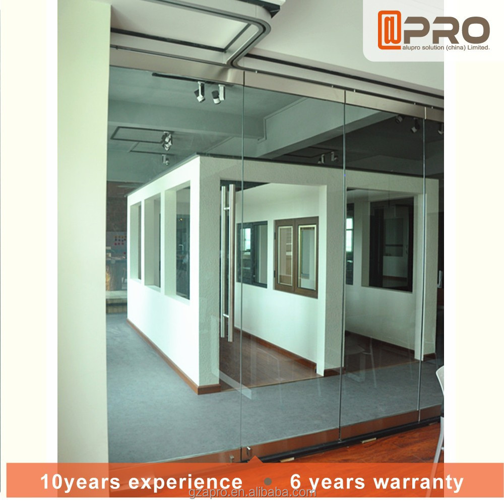 New door design office partition glass wall for office separation wall