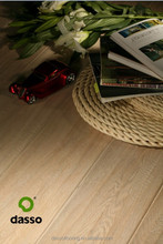 Dasso 4mm top layer UV Lacquer coating stained white oak Plank engineered wood timber flooring