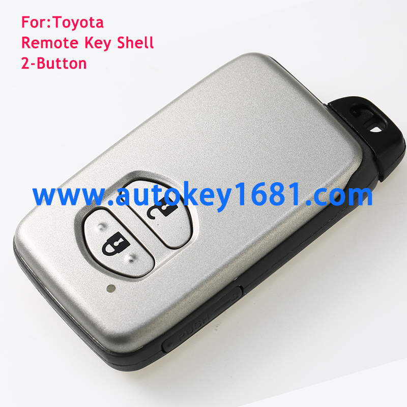 For TOYOTA Auris Prius Verso Yaris SMART 2 BUTTON REMOTE KEY FOB CASE Shell