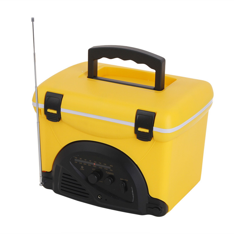 cooler box with radio,speaker cooler box