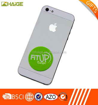 Hand Phone Screen Cleaner Sticker PU gel