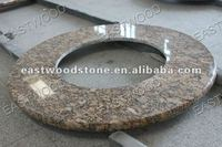 Large & small natural granite fire pit