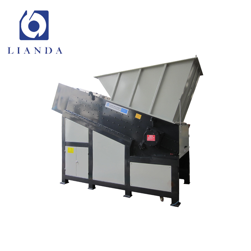 Attractive single shaft plastic shredder machine and crusher price