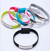 new desgin decorective Wristband bracelet usb cable for samsung for iphon 5 6