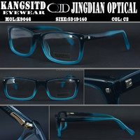 two tone color shade acetate eyewear wholesale full rim KANGSITD 9046