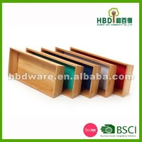 Hot selling bamboo kitchen storage box