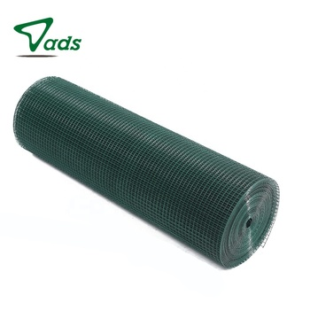 9 gauge 1x1 3/4 inch pvc coated stainless steel welded wire mesh