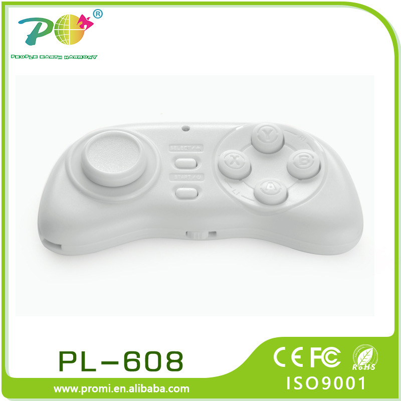 Mini Bluetoth gamepad <strong>controller</strong> remote for android / IOS / PC from China supplier PL-608