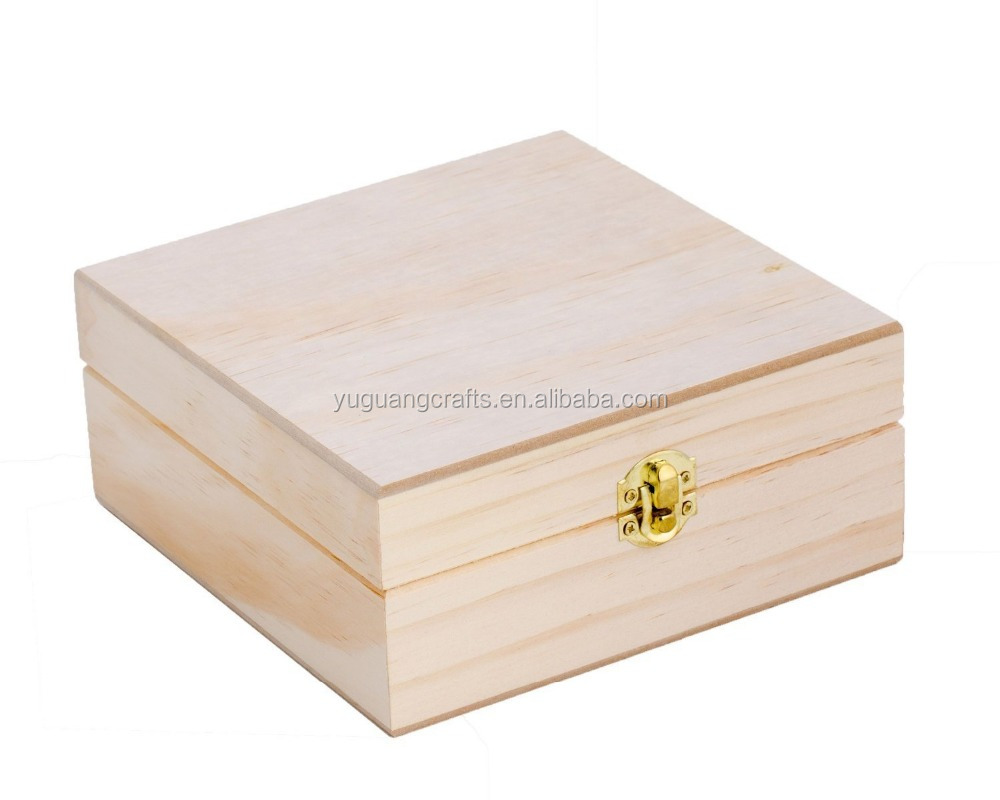 Top quality unfinished wooden boxes wholesale buy small for Unfinished wooden boxes for crafts