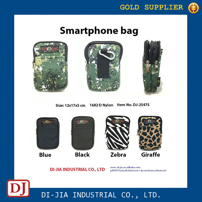 Custom Mobile Phone Accessories Smartphone Carry Bag Pouch