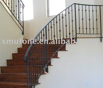 simple wrought iron stair railing view wrought iron stair