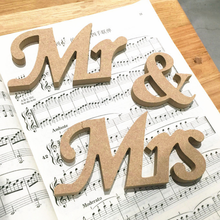 custom wedding wooden mr and mrs table sign wooden mr and mrs letter