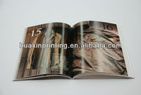 2013 2014 best price chocolate products brochure catalog printing (with FSC certificate)