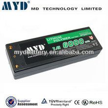 40C 5500mah lipo 7.2v rc helicopter battery