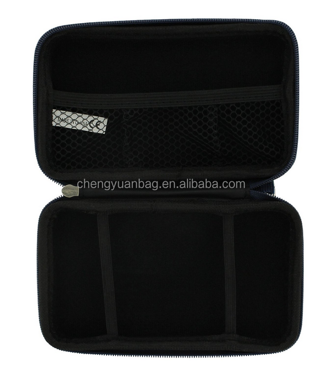 EVA hard travel case & headphones for DS Lite, DSi & 3DS - Navy