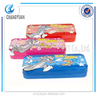 (CY6302) personalized gifts plastic pencil box/beautiful pencil case/transparent pencil case