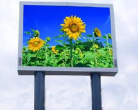 high definition P10 outdoor full color led screen display for advertising