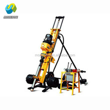 portable soil air track pneumatic drilling rig