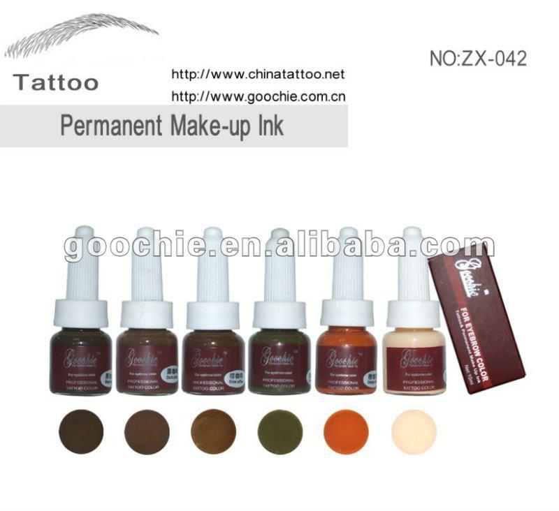 Eyebrow Permanent Makeup Pigment Ink, View Permanent Makeup Ink ...