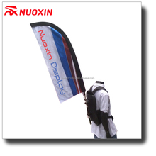 NX Flag advertising promotion flying teardrop feather backpack flag banner