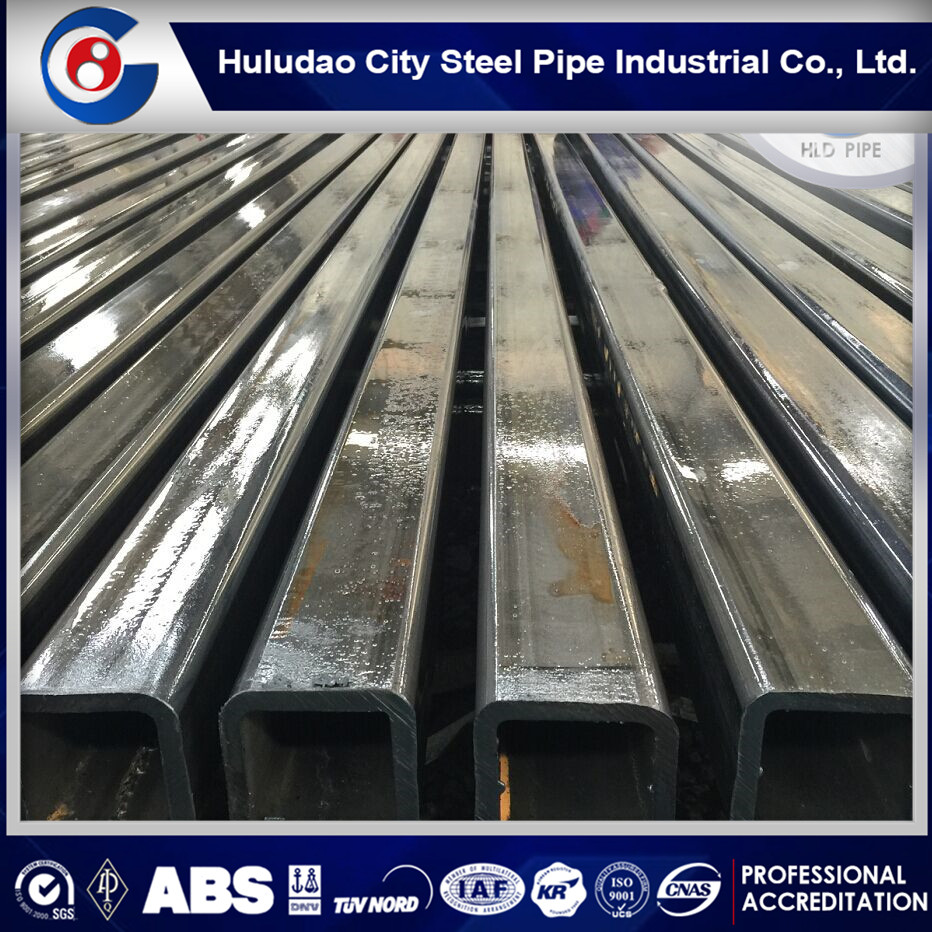 s235jr q345b weld dark black square pipe and tube