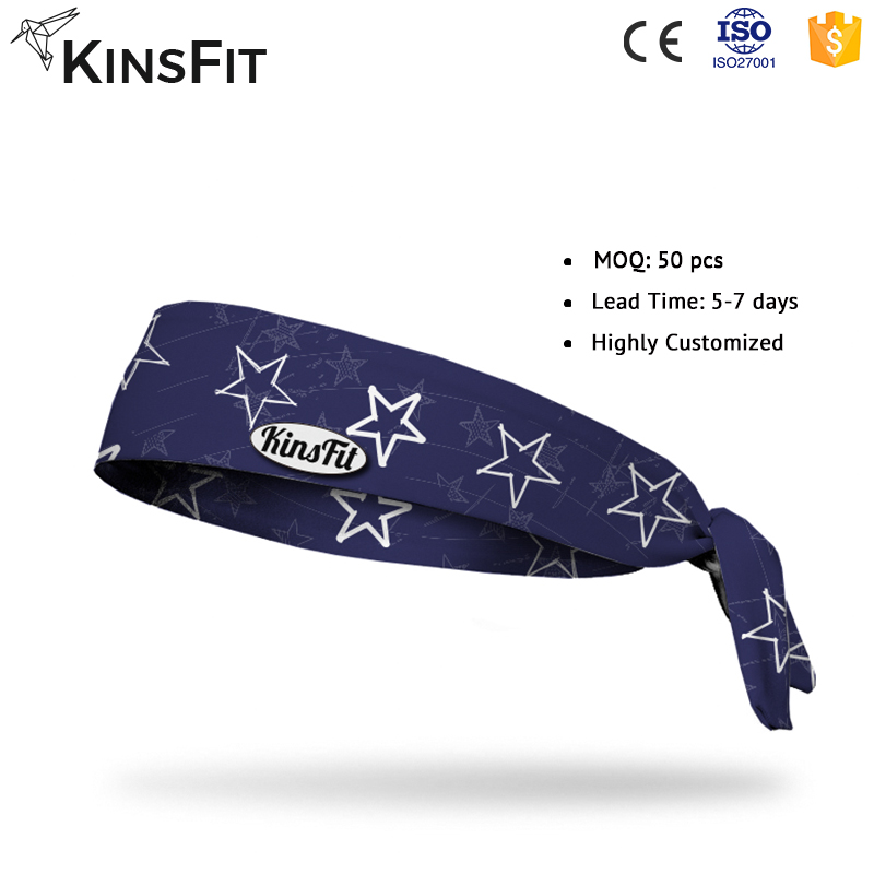 (Trade Assurance,Free Shipping) Floral Colorful Moisture Wicking Headband for women