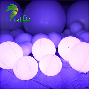 Hot Sale LED Zygote Interactive Air Crowed Party Balls / Hydrogen-Air Balloons / Inflatable LED Air Balloon DMX