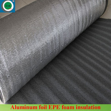 Waterproof non flammable aluminum foil backed foam insulation for roof insulation