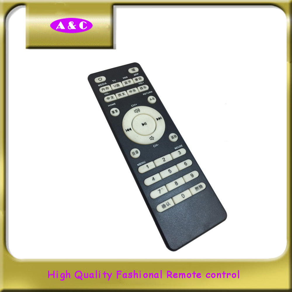 Modern design hot selling wireless remote control keyboard