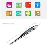 16GB Hidden Pen-type Digital Teaching Voice Recorder,5in1 Multifunction Learn MP3 music Player,Signature pen flash driver