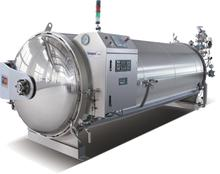stainless steel autoclave sterilizer machine for fruit juice beverage