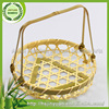 natural material weaving Eco-friendly bamboo basket for decoration