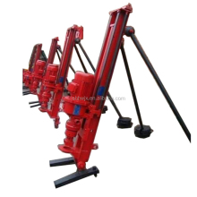 Rock drilling machine pneumatic rock bolt drilling rig for sale