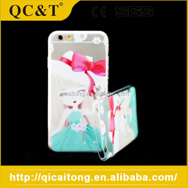 2016 New Design Smartphone Tpu Plastic Shenzhen Mobile Phone Shell For Iphone 6S, waterproof phone case