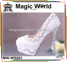 Bling lady high heels shoes ,factory price shoes women