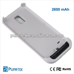 Rechargeable Backup Micro USB Battery Charger Case For SAMSUNG Galaxy S4 MINI