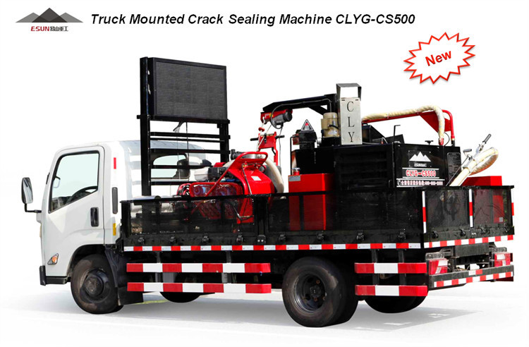 ESUN CLYG-CS500 truck mounted carpet cleaning asphalt road crack sealing machine