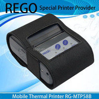 2'' thermal mobile phone printer for Retail and warehouse receipt printing RG-MTP58B