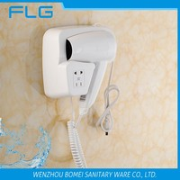 BM2101B Hotel Wall Mounted ABS 220V Fast Dry Hair Dryer
