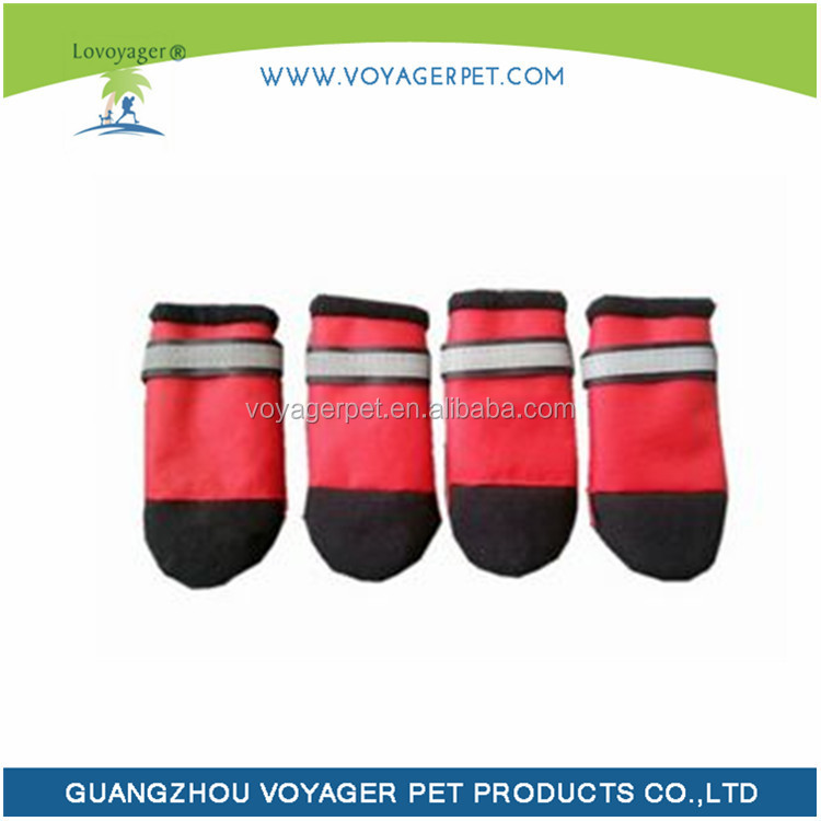 Lovoyager Pawz Red Water-Proof Dog Boot